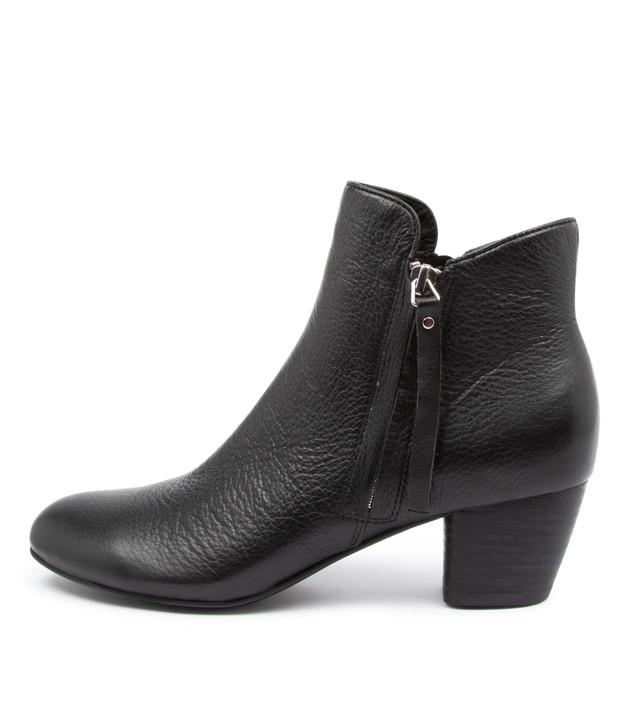 DEMANSE Black Leather