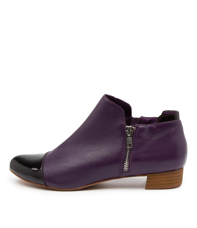 ENJAY Purple Patent Leather