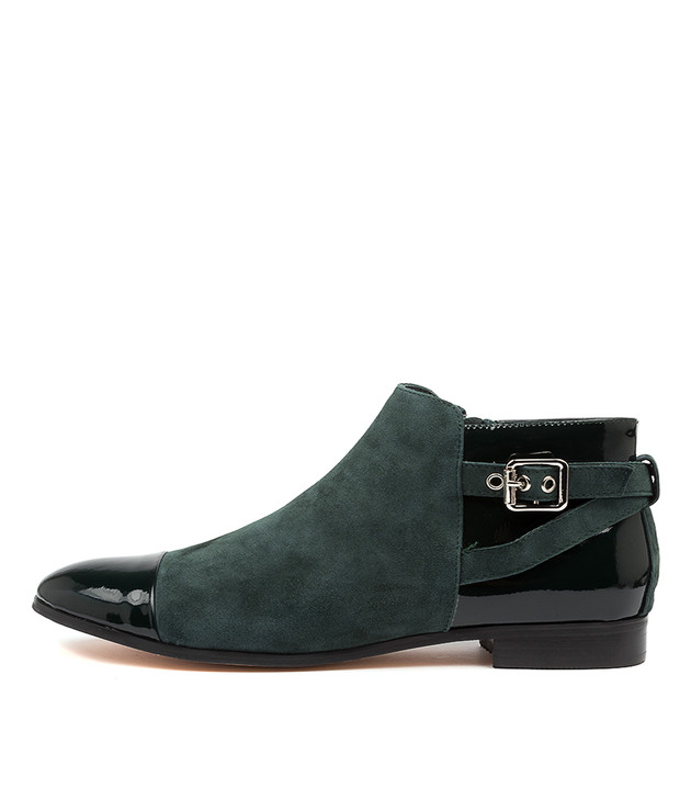 JESIE Forest Patent Leather