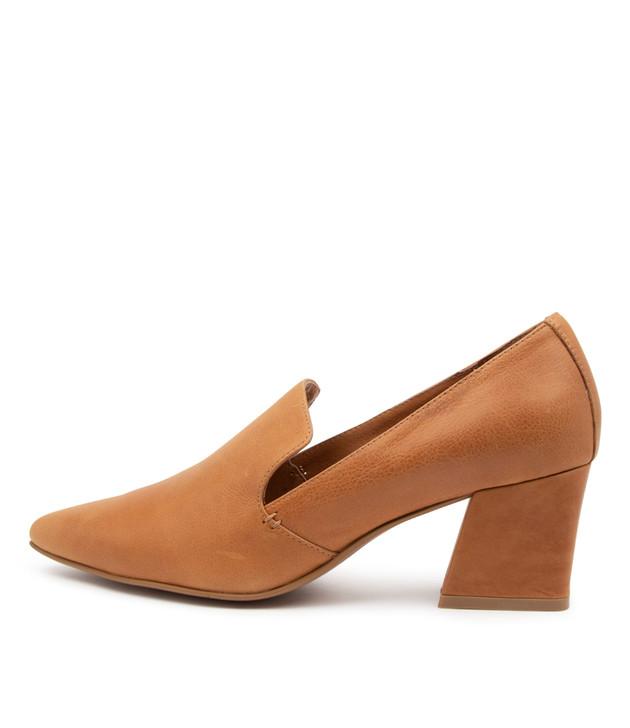 MISSIES Tan Leather