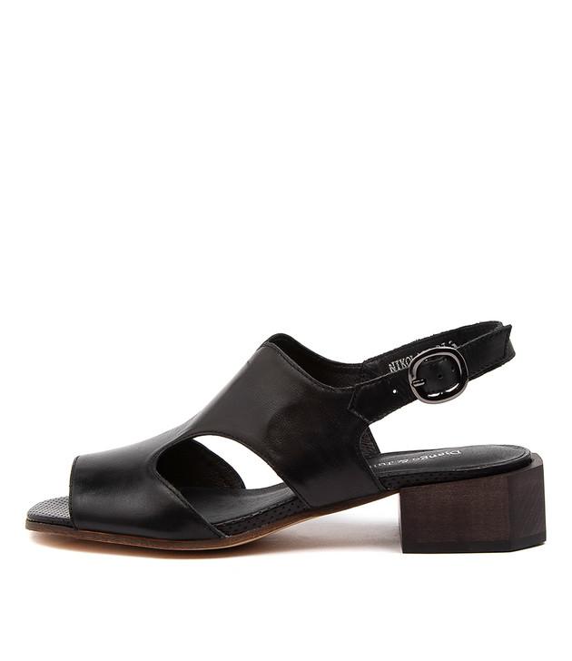 NIKOLATE Black Leather
