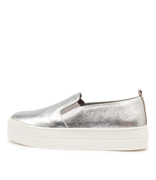 SINA Silver Crush Leather