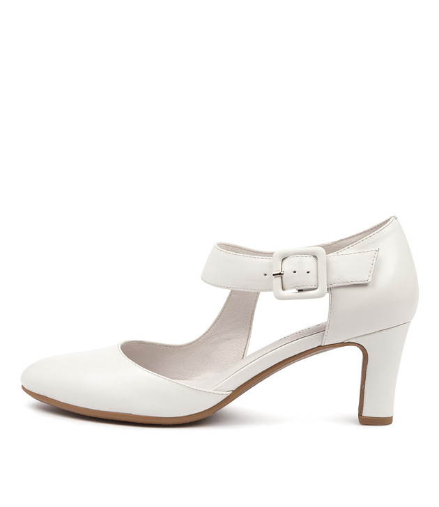TRINITIES White Leather