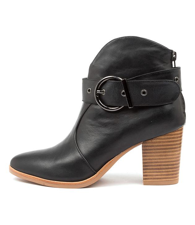 TULIPS Black Leather