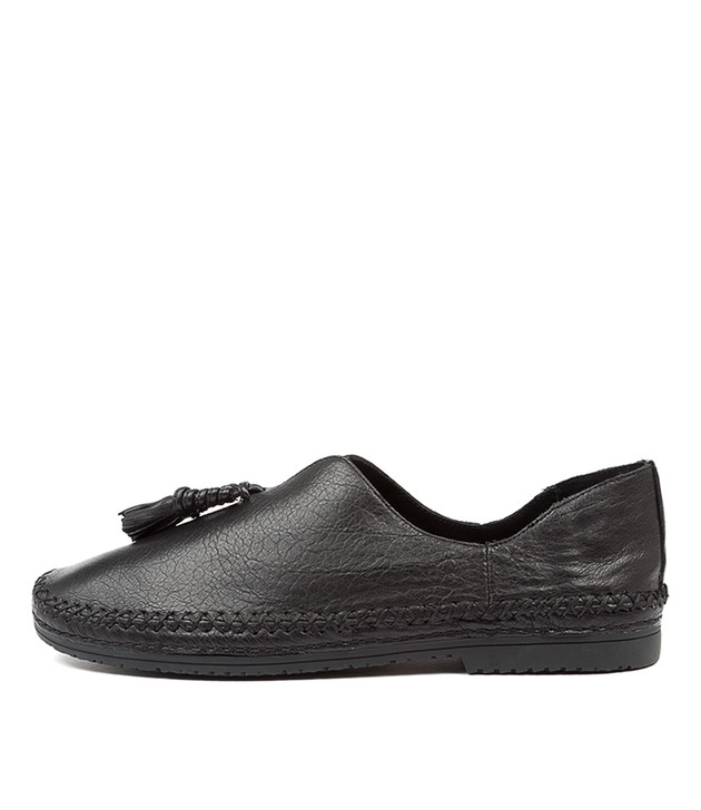 VIMMY Black Leather