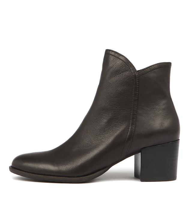 MOCKAS Black Leather