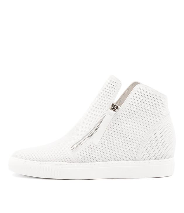 GISELE White Leather
