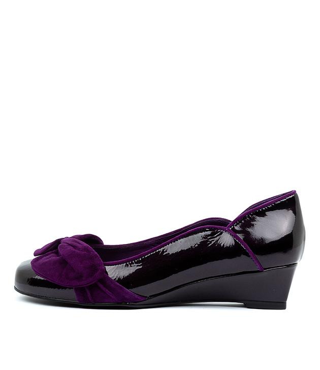 WENZEL Plum Purple Patent Leather