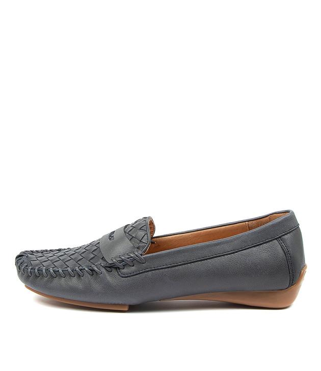LARIKAN Mid Blue Leather