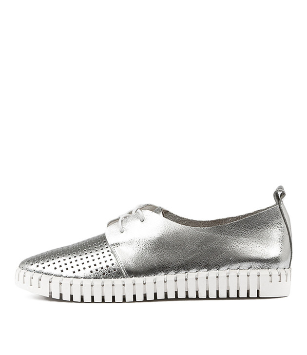 HUSTON Silver Leather