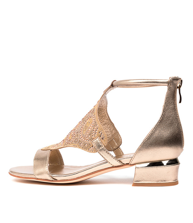 TOMIKA Champagne Leather