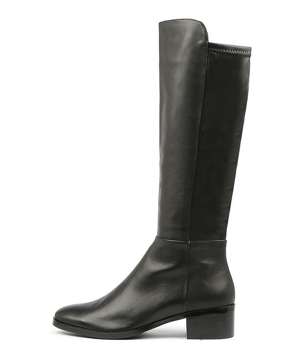 TETLEY Black-Black Leather