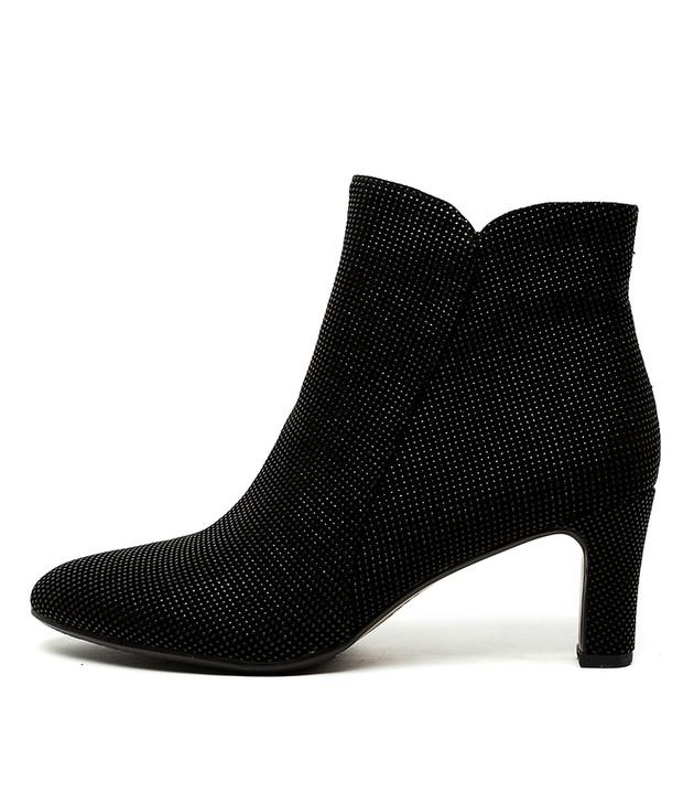 TOMIE Black&Black Leather