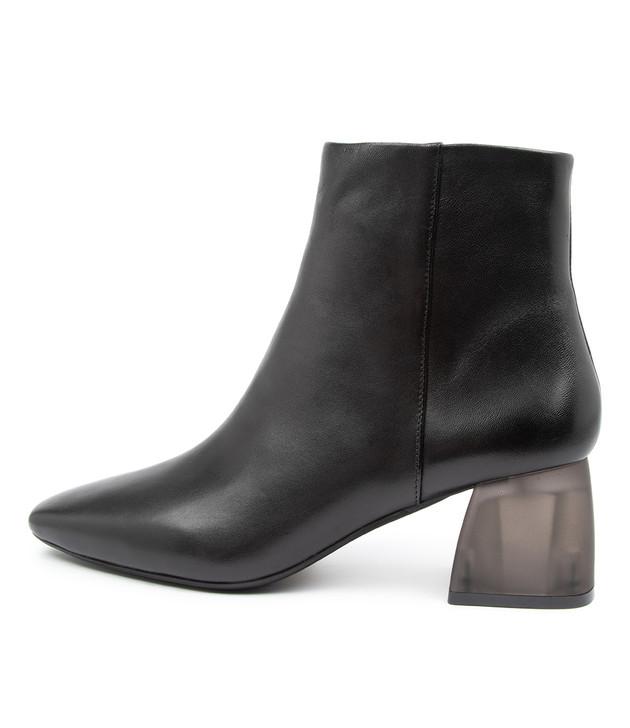 MANSON Black-Black Heel Leather