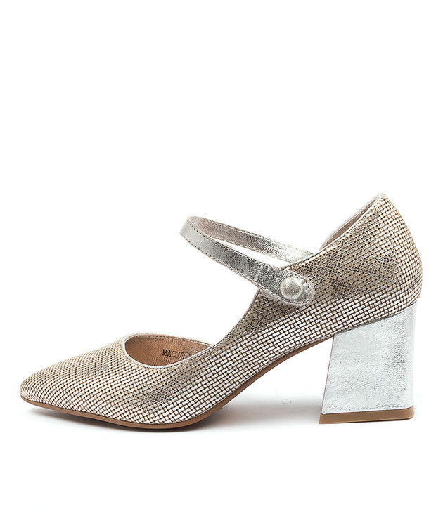 MACEO Silver Leather