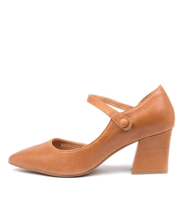MACEO Tan Leather