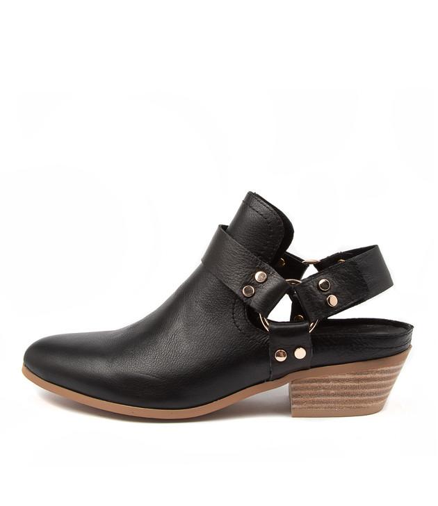 CRUEL Black-Natural Heel Leather