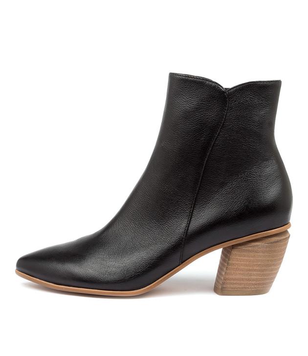 JAGGY Black-Natural Heel Leather