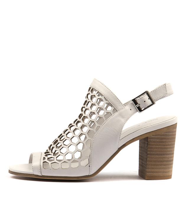 VIKKI White Leather
