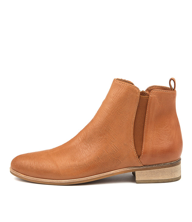 INFLICT Dk Tan Leather