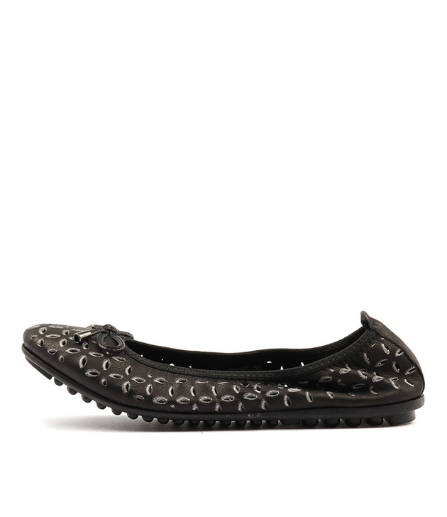 BOOMS Black-Pewter Leather