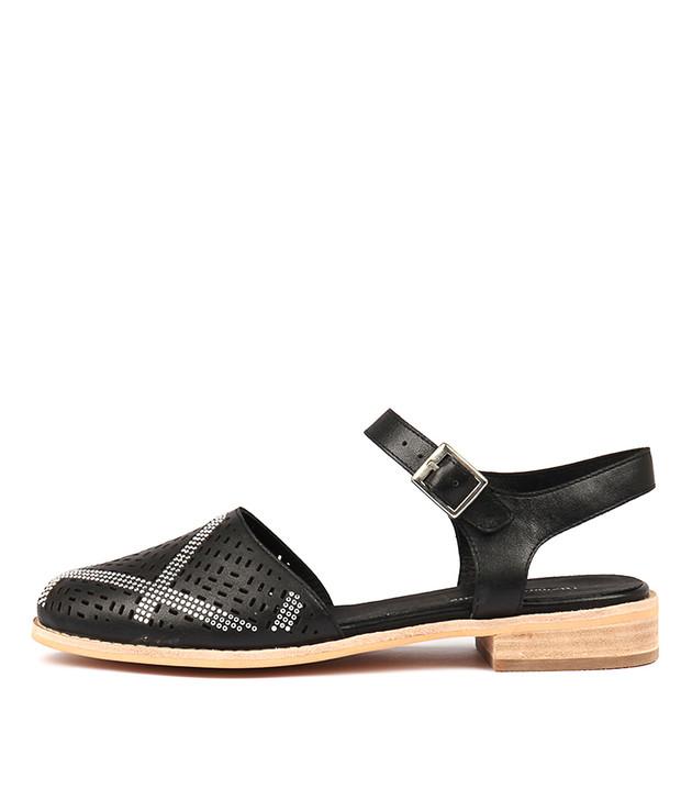 ANCIL Black Leather