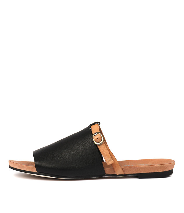 JAYCIE Black-Tan Leather