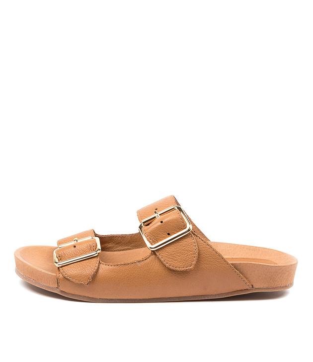 NOLLARY Dk Tan Leather