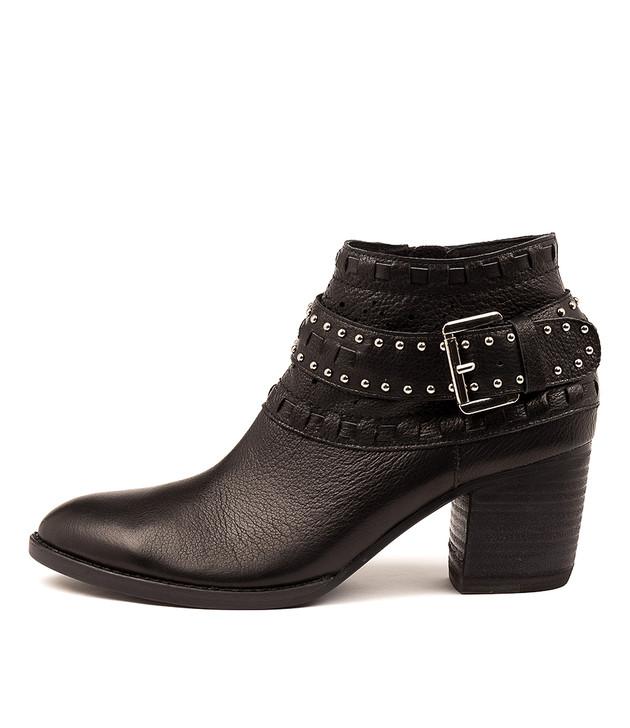 BENITO Black-Black Heel Leather