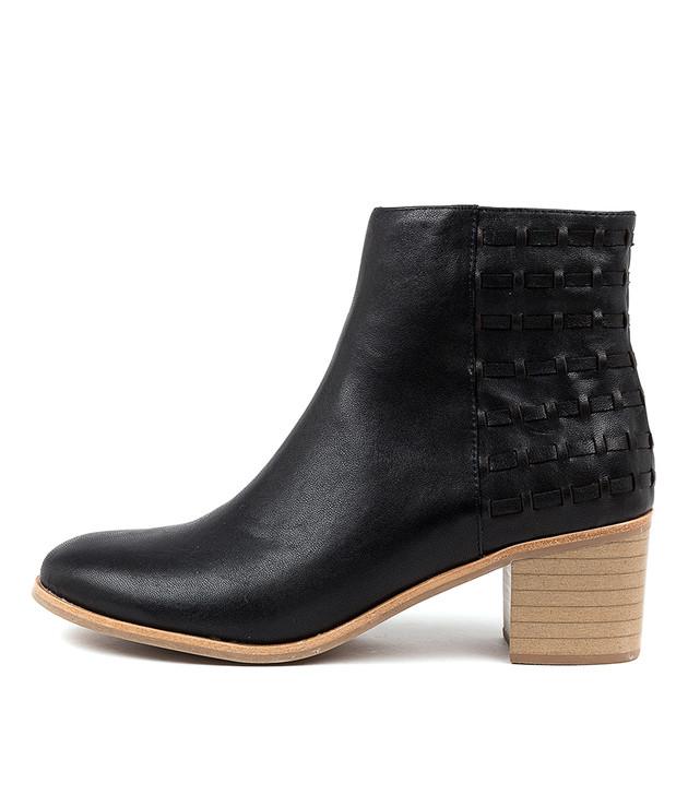 KEISHA Black Leather
