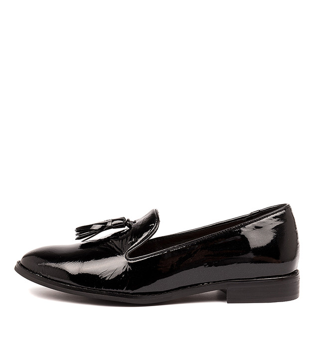 LEANDRO Black Patent Leather