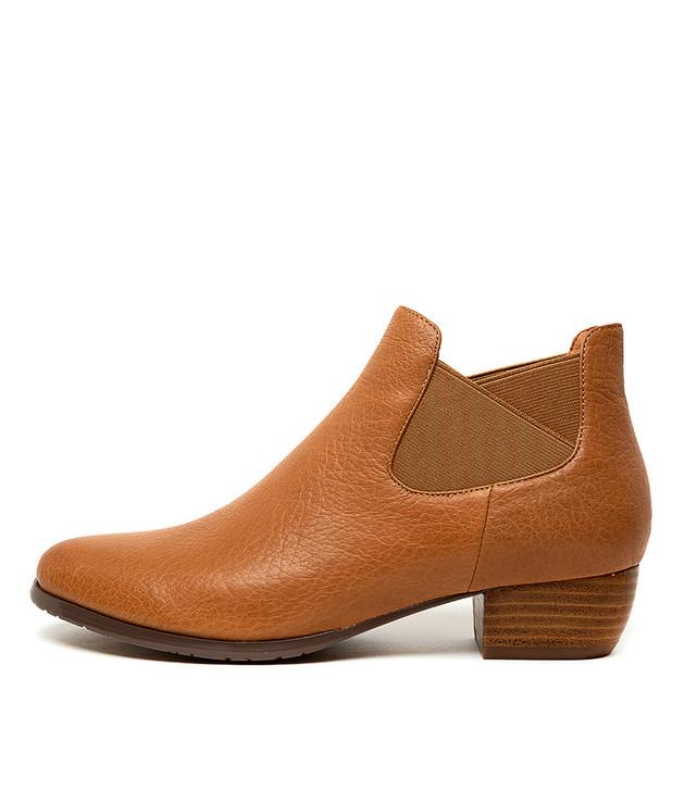 TONDARY Dk Tan Leather