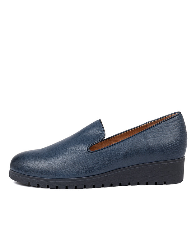 NANNETTE Navy-Navy Sole Leather
