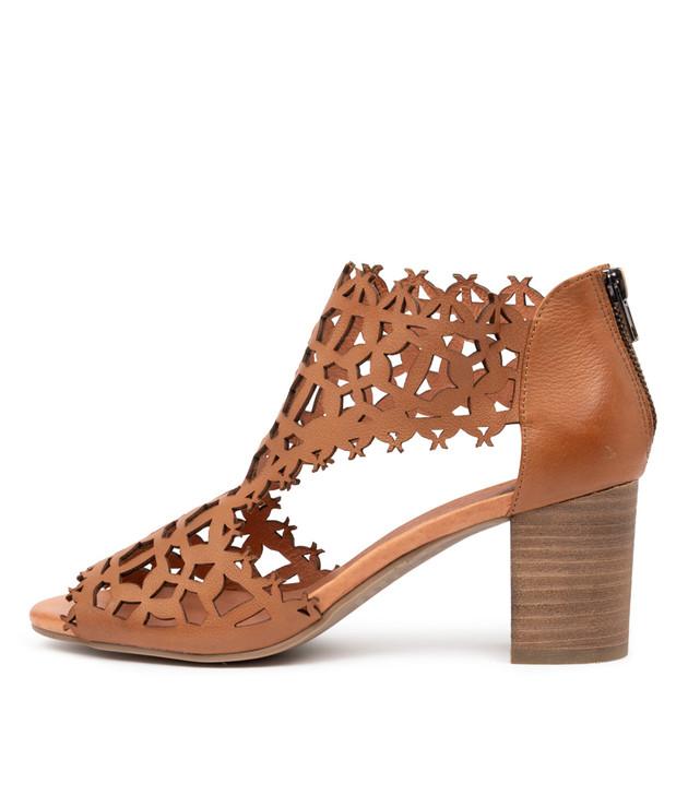 SONIES Dk Tan Leather