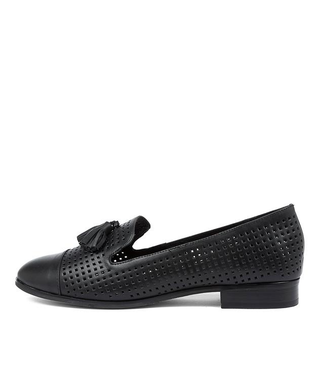 JEFFER Black Leather