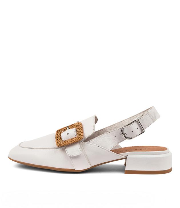 VIKA White Leather