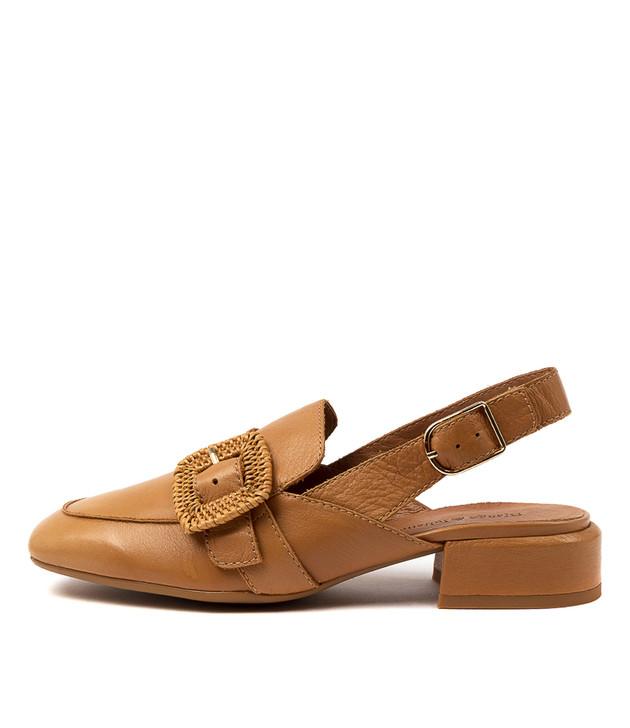 VIKA Dark Tan Leather