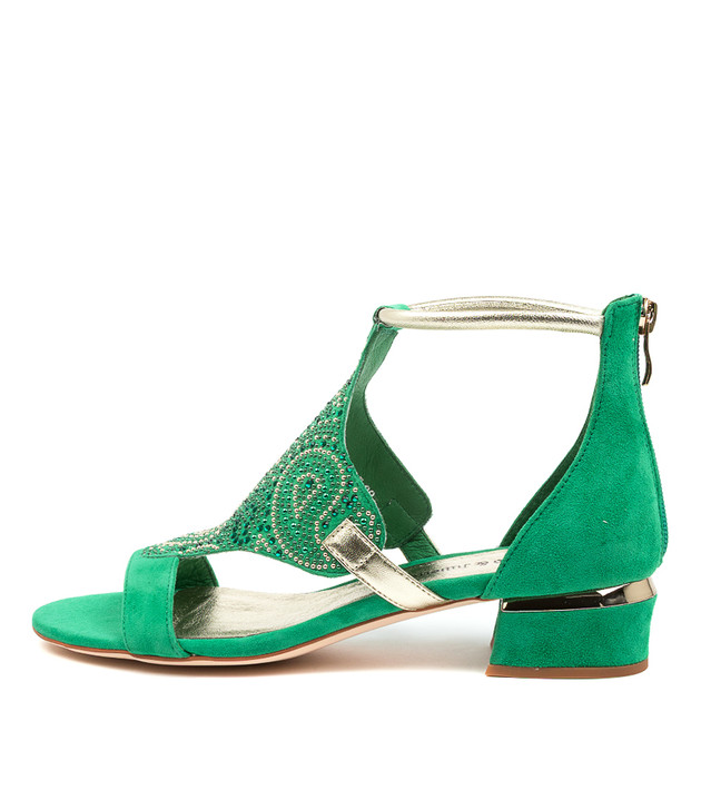 TOMIKA Winter Green Suede
