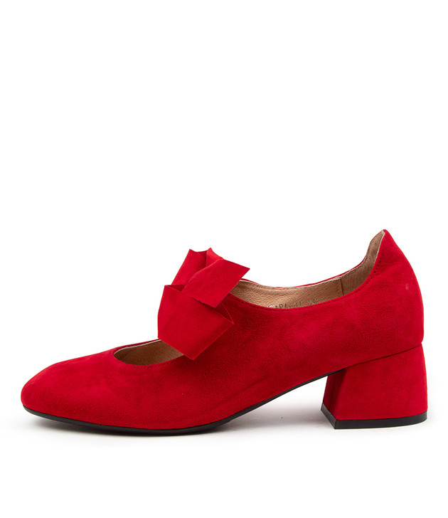 CHIARA Red Suede