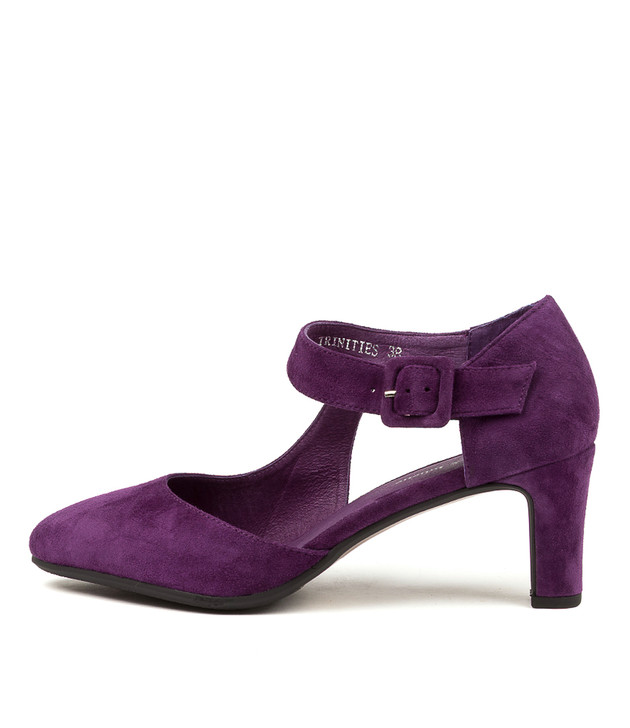 TRINITIES Purple Suede