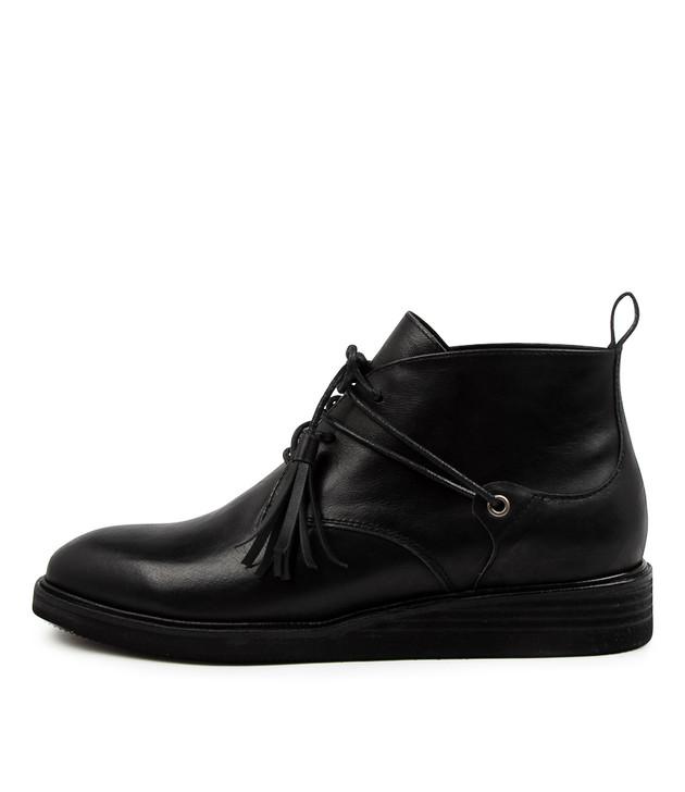 VEGART Black Leather