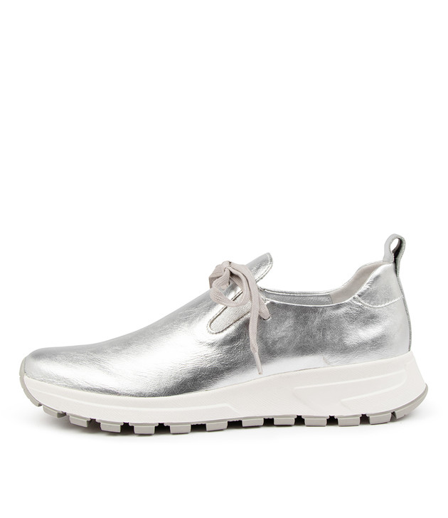 VIGGY Silver Leather