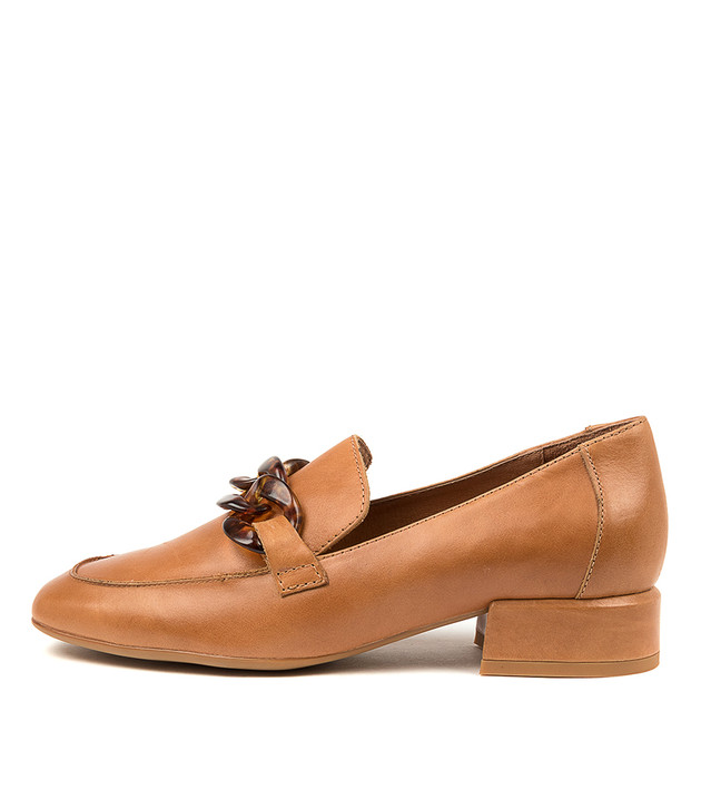 VIVANLY Tan Leather