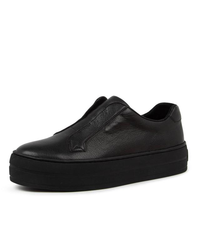 SHIA Black Leather /  Black Sole