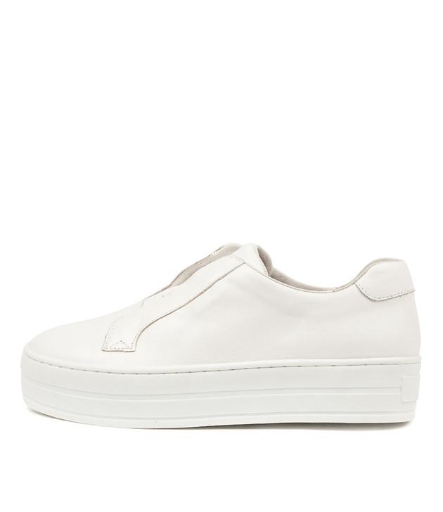 SHIA White Leather
