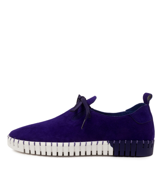 LOXIE Royal Purple Suede