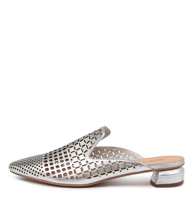 FLAN Silver Leather