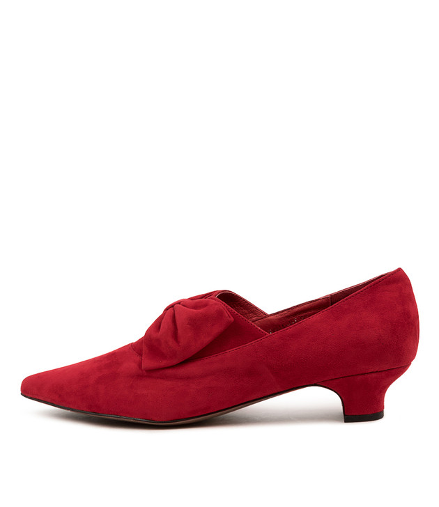 DONA Red Suede