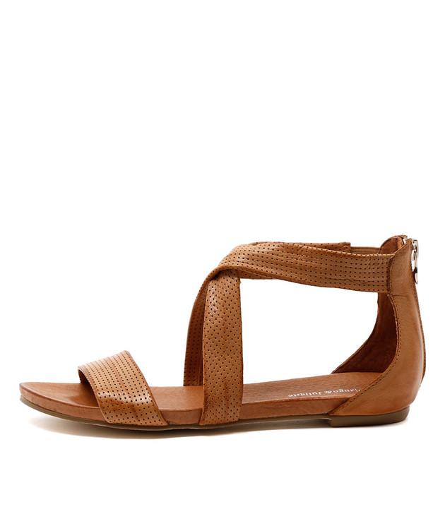 JELLIN Sandals Tan Leather