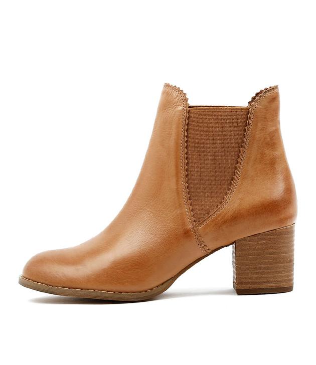 SADORE Boots  Dark Tan Leather
